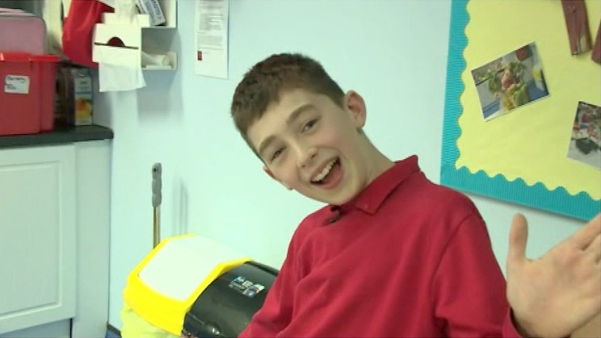 Josh Cullip: Coping with dementia at 11 years old