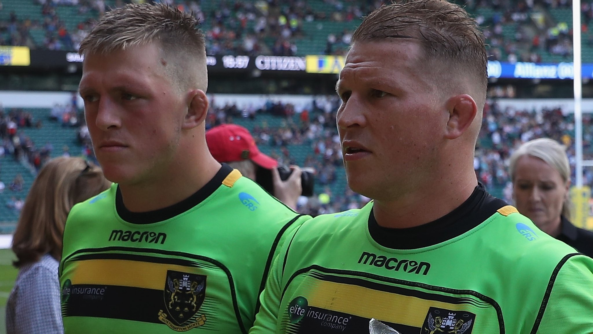 Northampton Saints: Dylan Hartley and Alex Waller to share captaincy