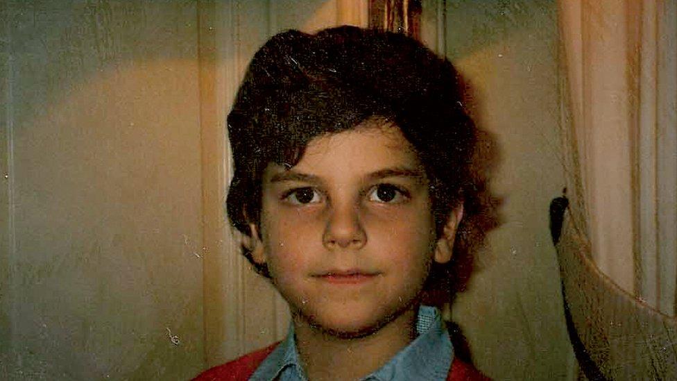 Carlo Acutis durante su infancia.
