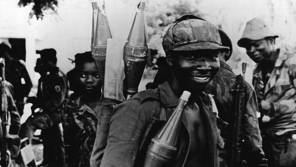 Las armas soviéticas han alimentado muchos de los conflictos en África desde hace años.