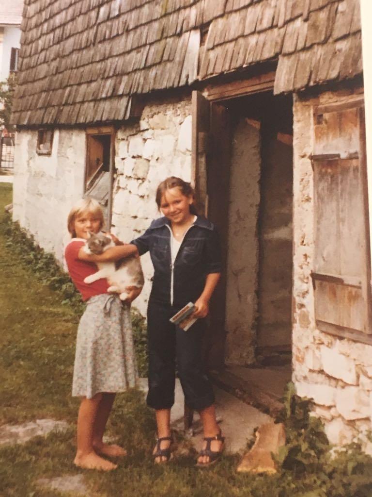 Inga Maria and her sister Frederika