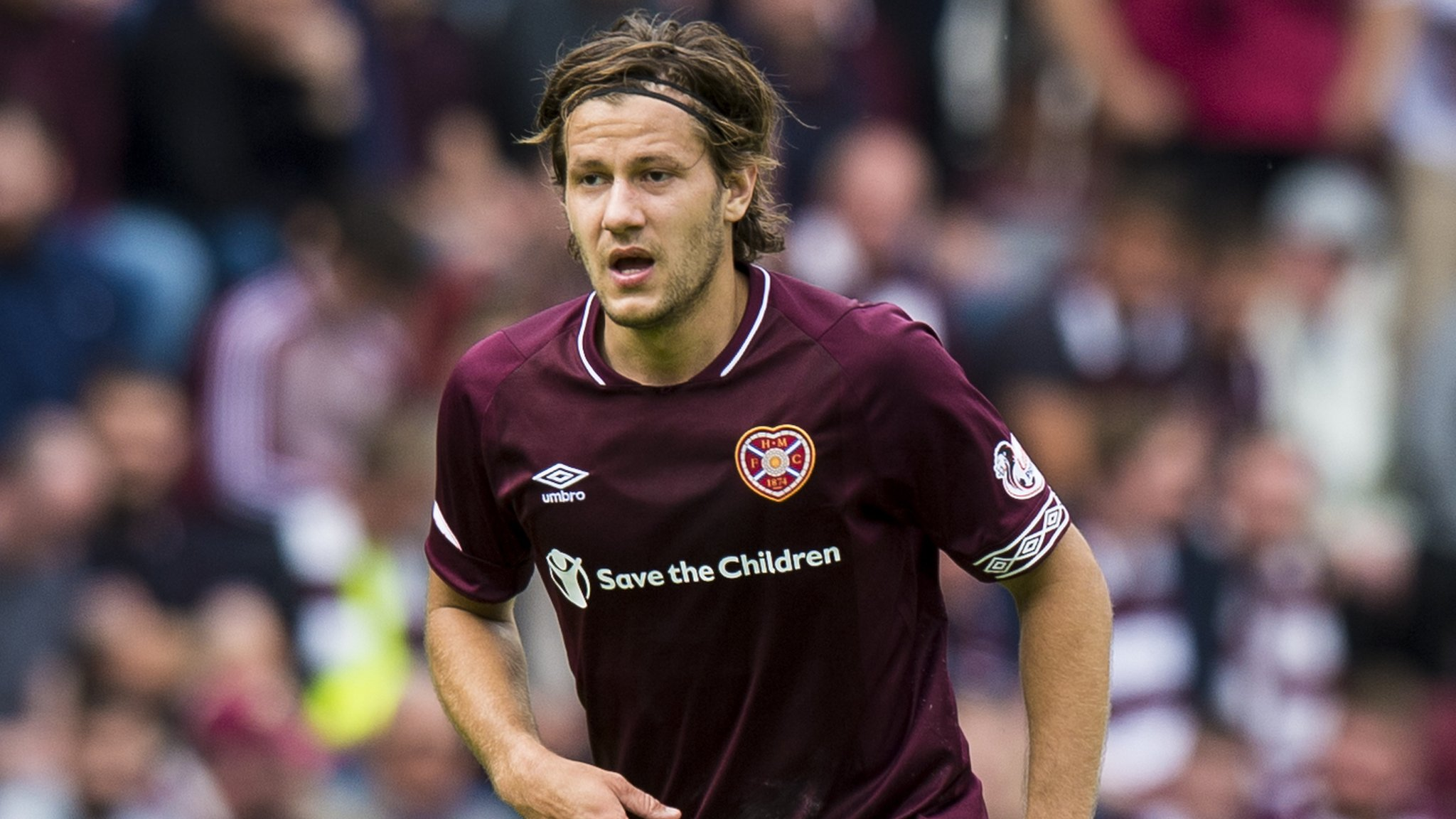 Peter Haring: Hearts beating Celtic was career highlight