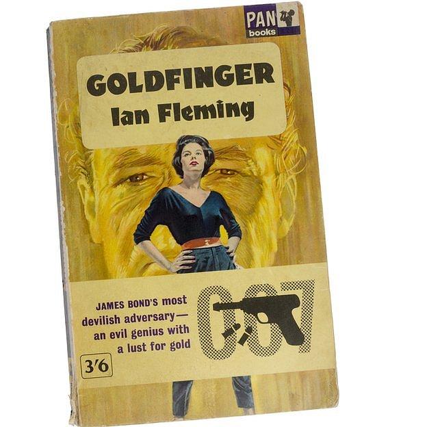 Carátula del libro Goldfinger