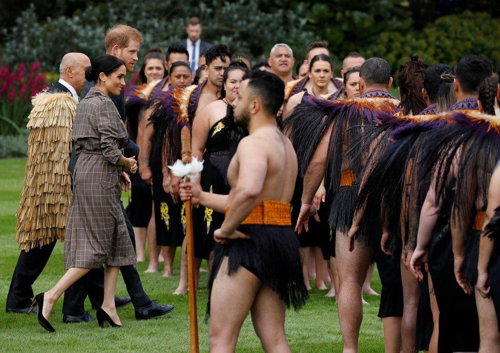 The duke and duchess in Wellington