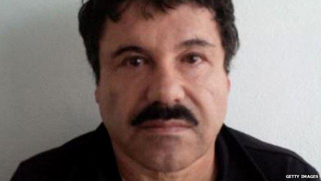 File photo of Mexican drug lord Joaquin Guzman known as El Chapo