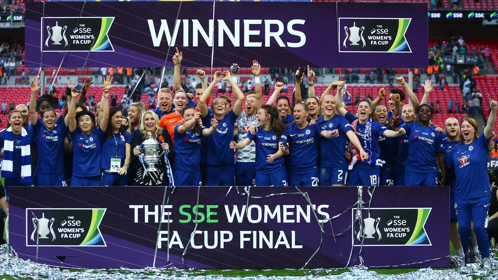 Chelsea: Women's Super League champions renamed Chelsea FC Women