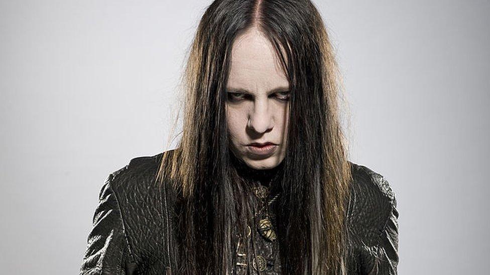 Joey Jordison en 2010.