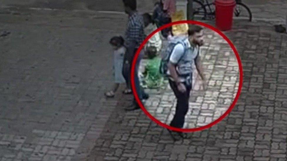 Un sospechoso del ataque suicida en Negombo, Sri Lanka.
