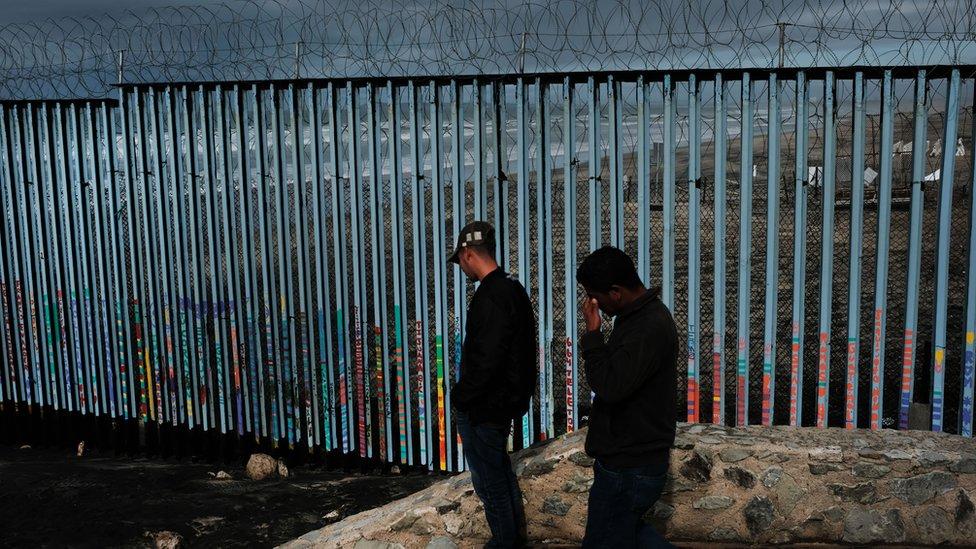 Frontera entre Tijuana (México) y San Diego (Estados Unidos)