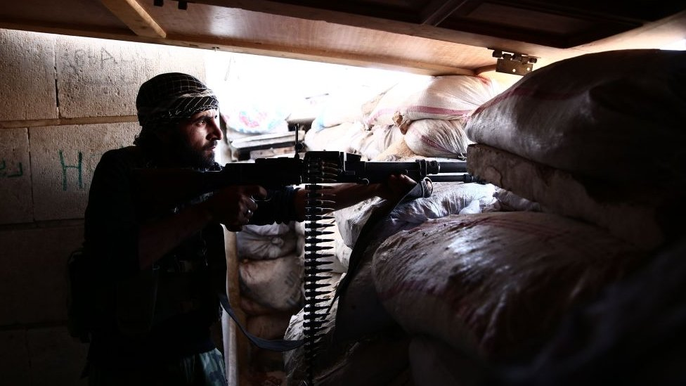 İdlib muhalif asker