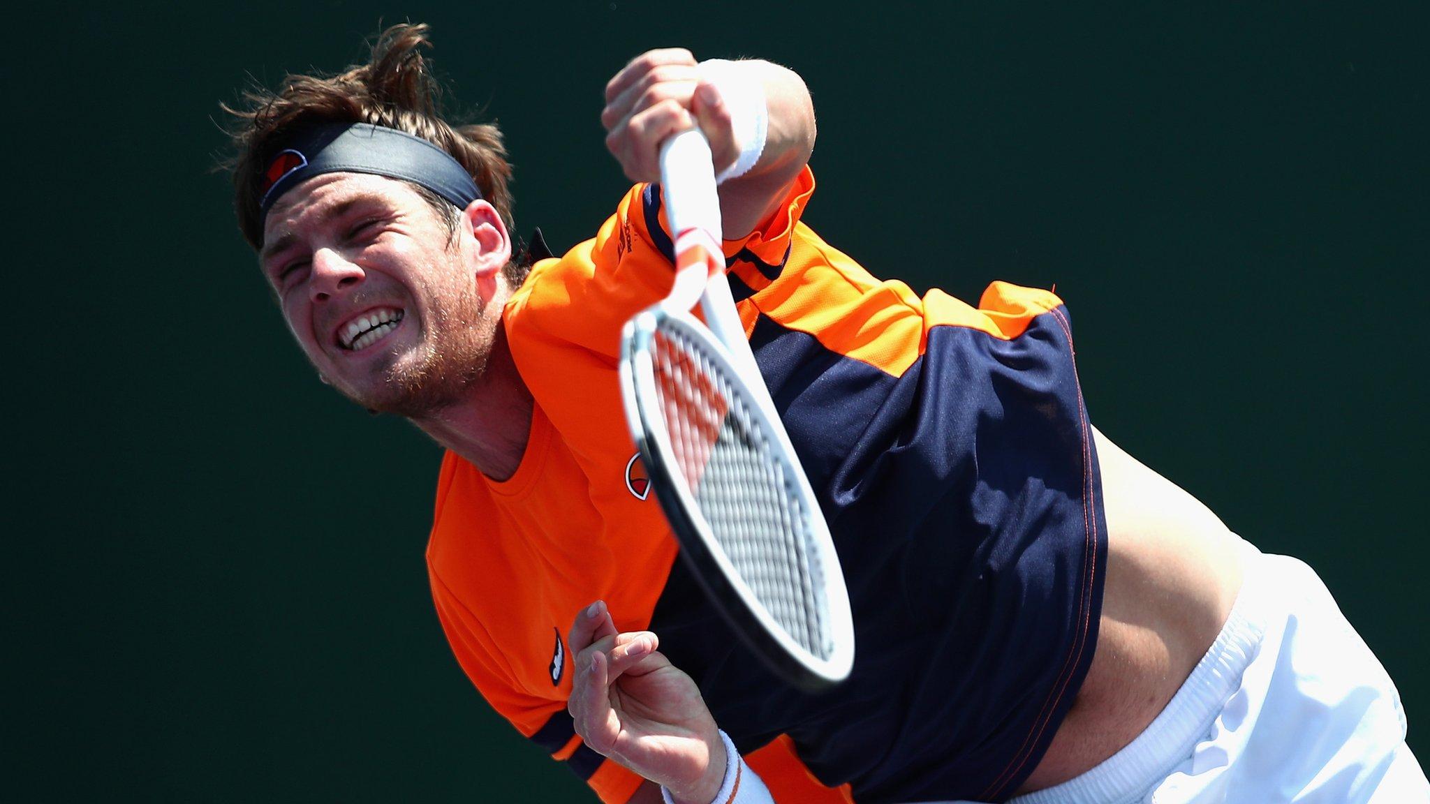 Britain's Norrie into Lyon Open quarter-finals