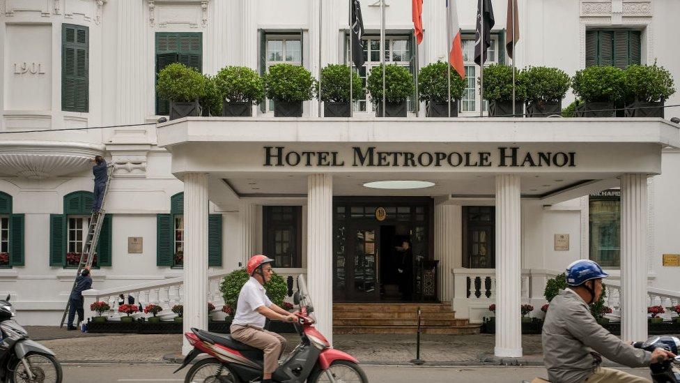 فندق متروبول حيث تعقد القمة