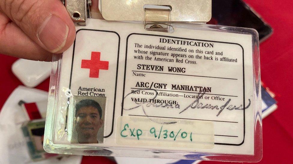 黃華清義工身份證
