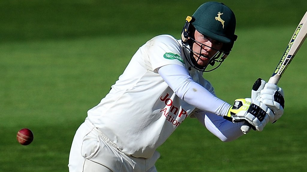 County Championship: Moores and Milnes put Nottinghamshire on path to victory over Essex