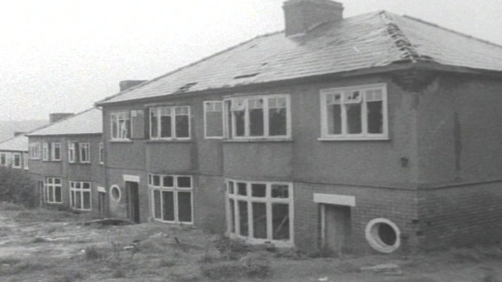 Houses on Brynglas Hill needed to be demolished