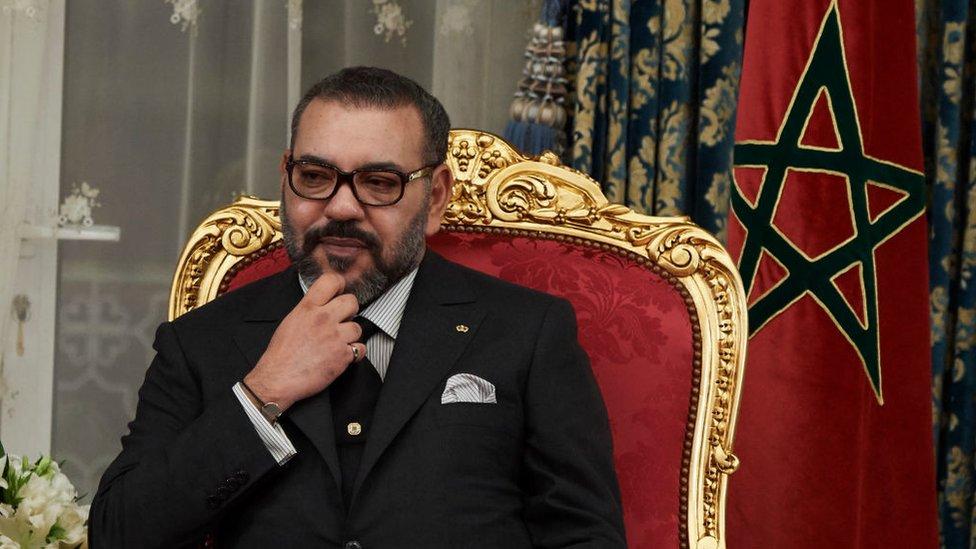 محمد السادس عاهل المغرب