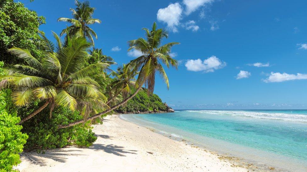 A beach in Bali