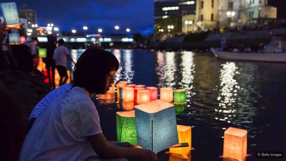 Obeležavanje godišnjice bombaških napada u Japanu
