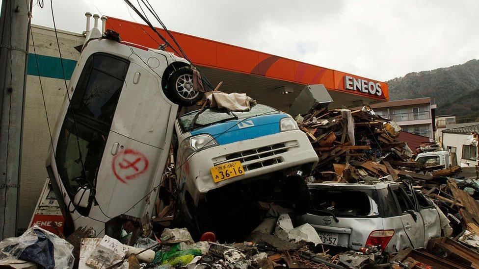 Terremoto en Japón el 11 de marzo de 2011.