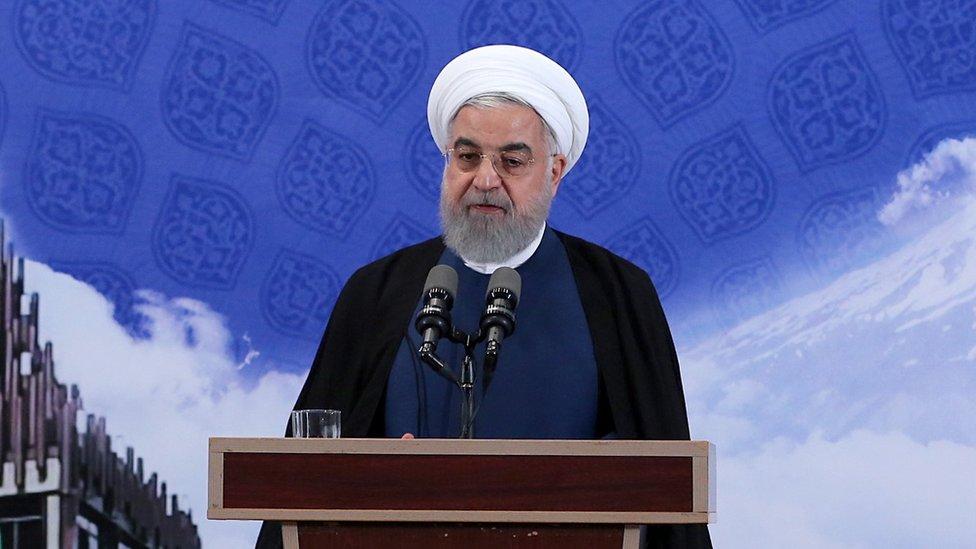 روحاني أكد إمكانية عودة بلاده إلى التزاماتها إذا التزم الموقعون الآخرون