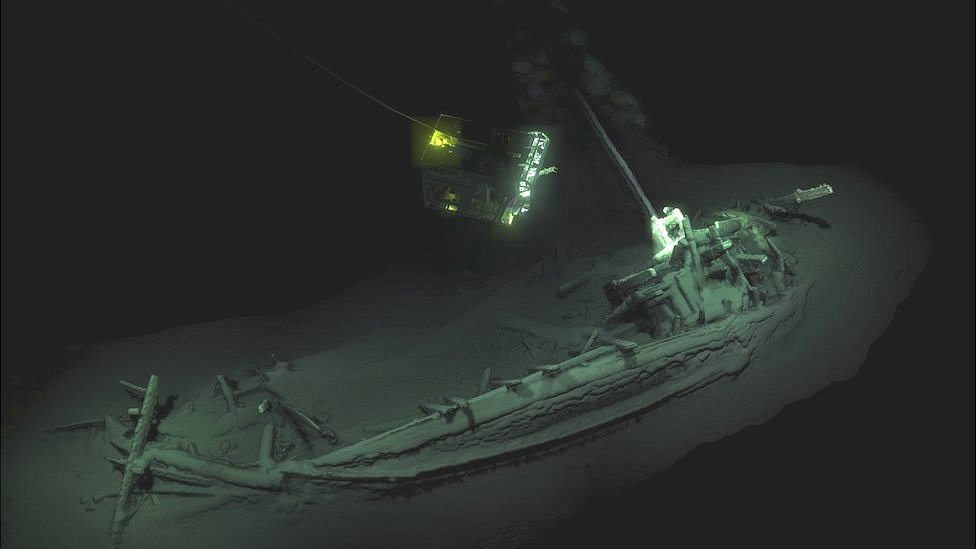Shipwreck found in Black Sea is 'world's oldest intact'
