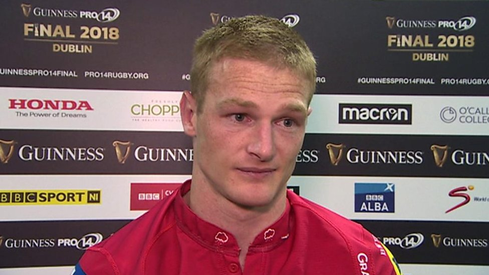'I'd give three tries up for a win any day' - Johnny McNicholl