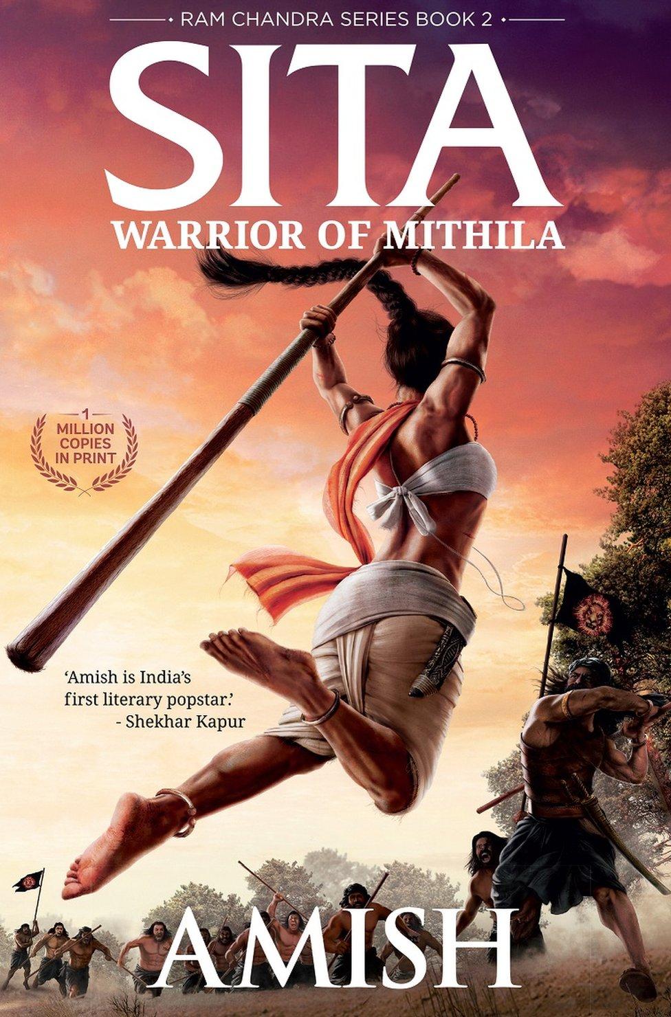 Cover of Sita, Tripathi's latest book