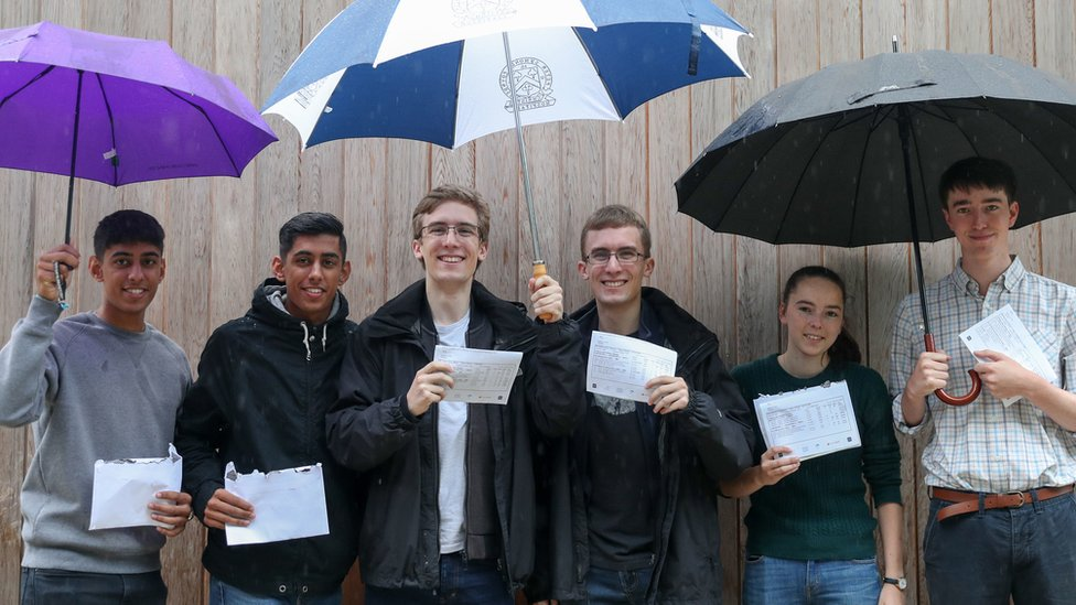 A-level results 2018: Three sets of twins heading to university together
