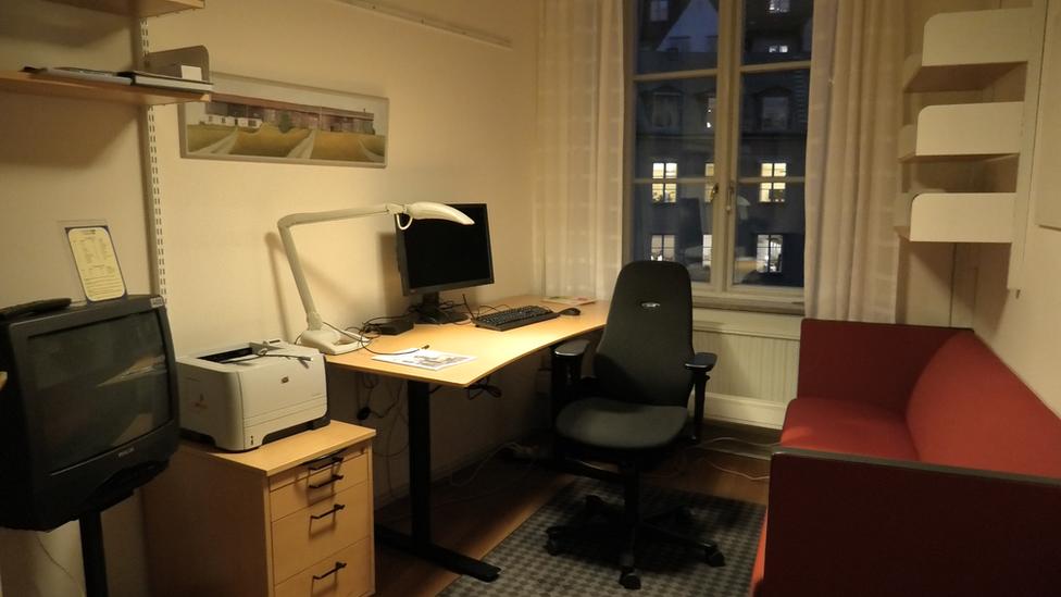 Despacho de diputado sueco.
