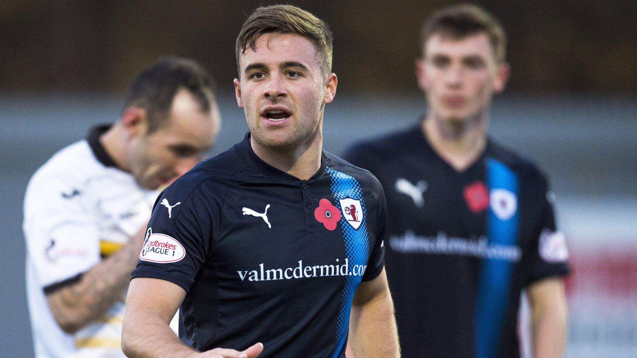 Scottish League One: Raith Rovers win as Arbroath maintain unbeaten start