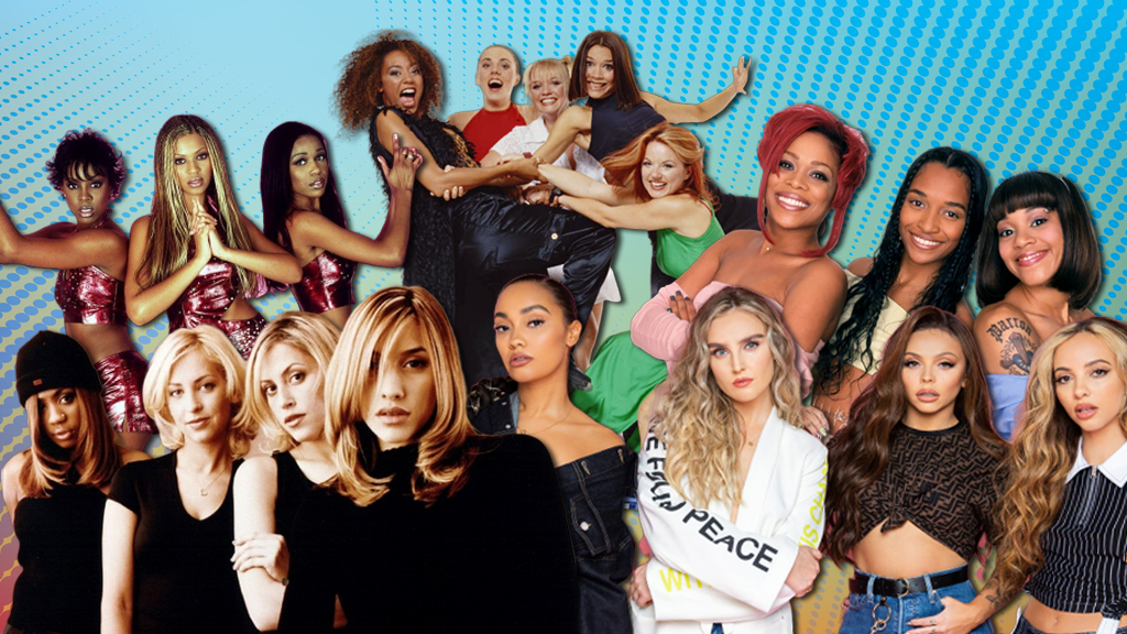 The UK's biggest girl band hits revealed
