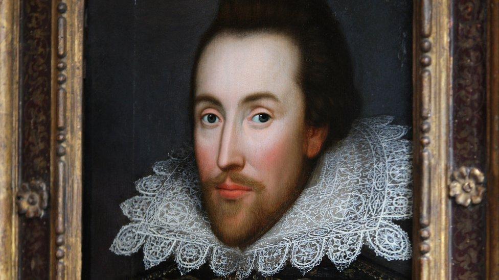 لوحة لمن يعتقد أنه وليام شكسبير
