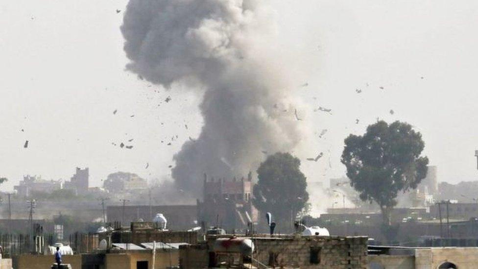 تقول الأمم المتحدة إن أكثر من 60٪ من وفيات المدنيين كانت نتيجة غارات جوية بقيادة السعودية