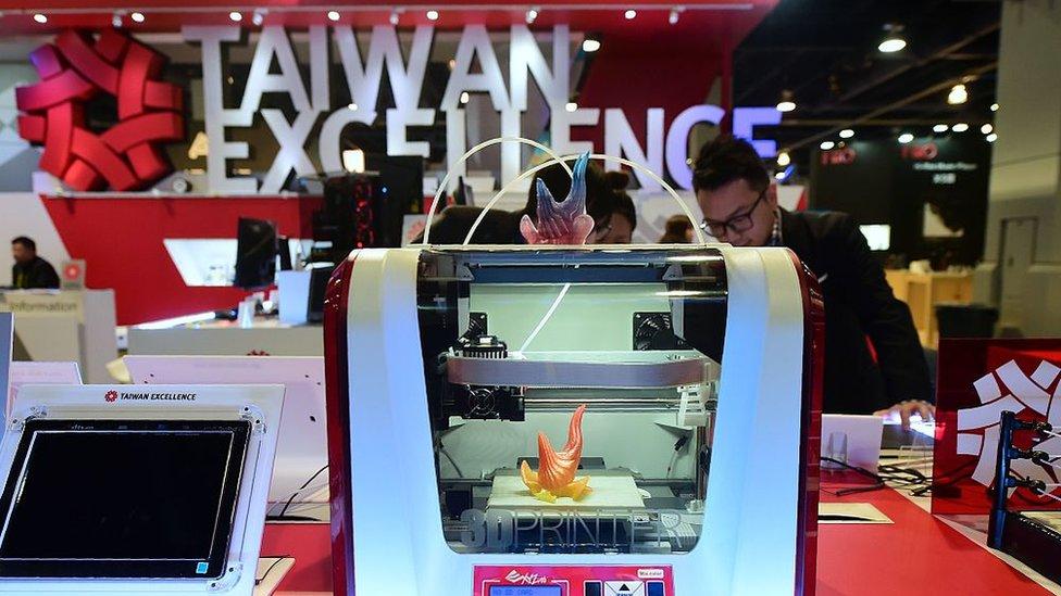 Las impresoras 3D son algunos de los productos que fabrica Kinpo.