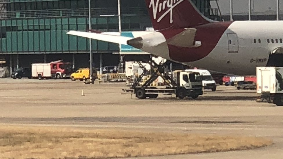 Disruption at Heathrow Airport as control tower evacuated