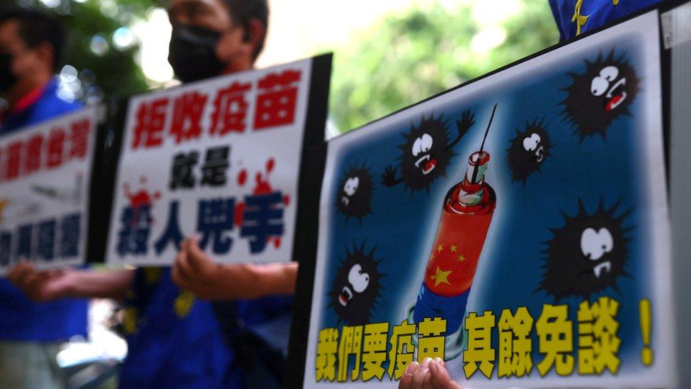 另外也有聲音要求,蔡英文當局接受中國大陸提供的新冠肺炎疫苗。