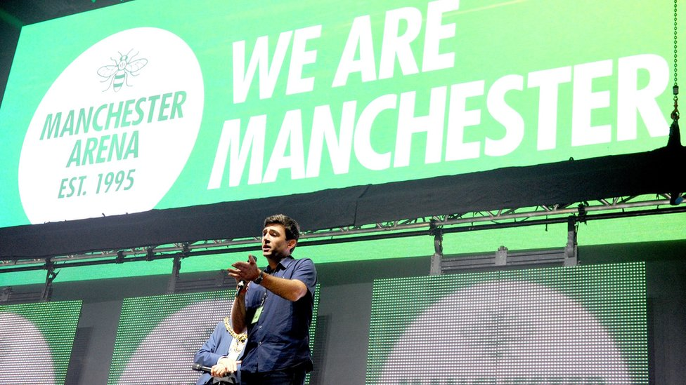 Music industry should support Manchester attack families, mayor says