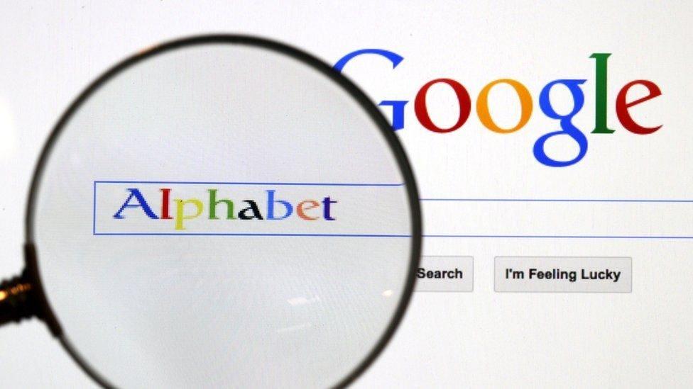 """شركة """"ألفابيت""""، الشركة الأم لـ """"غوغل"""""""