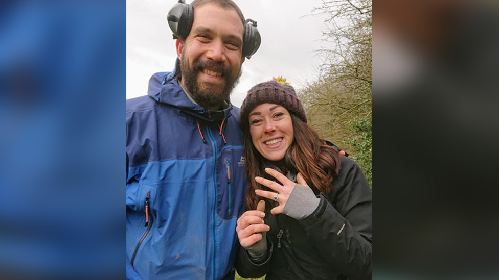 Metal detectorists help Wendover couple get engaged