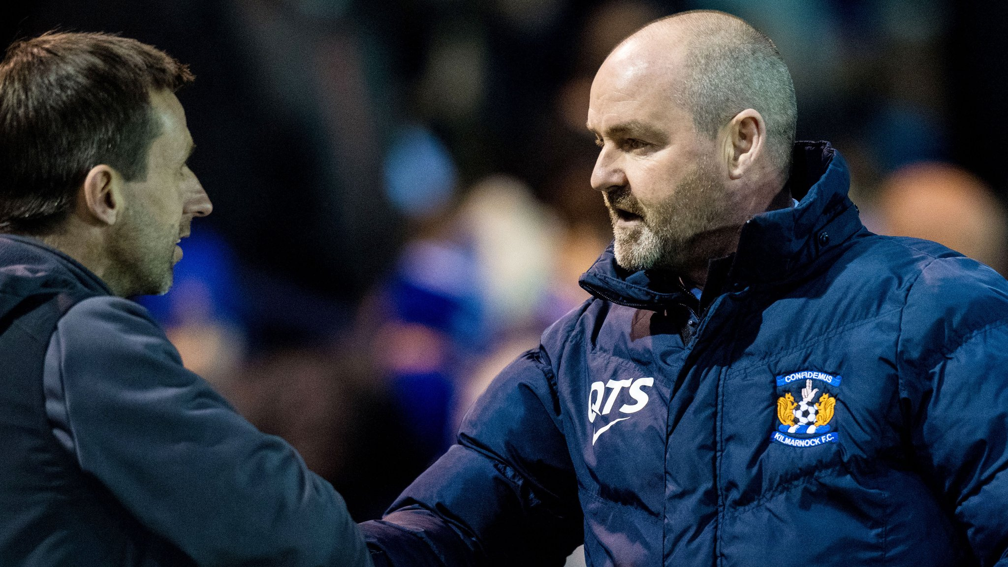 'Of course it's attractive' - McCann signals interest in Kilmarnock job