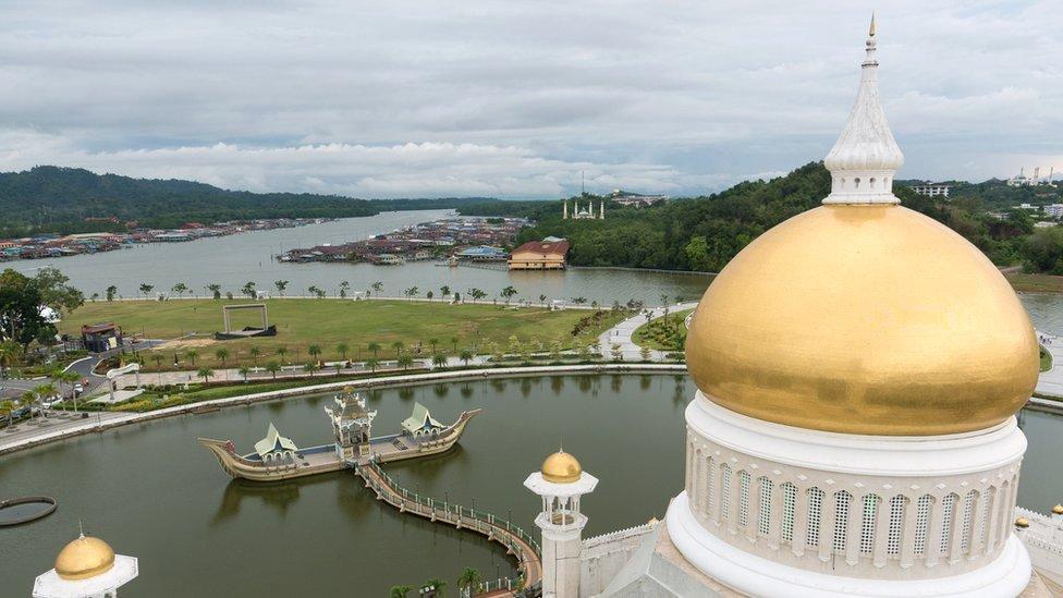 La capital de Brunei, Bandar Seri Bagawan,