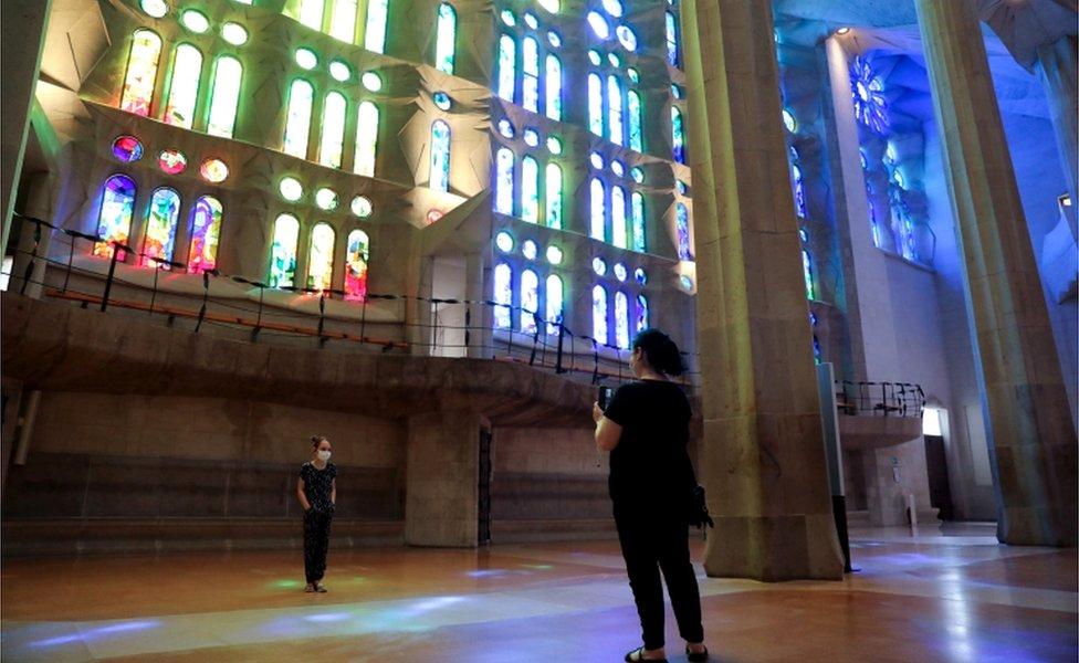 Sagrada Familija je najposećeniji objekat u Španiji