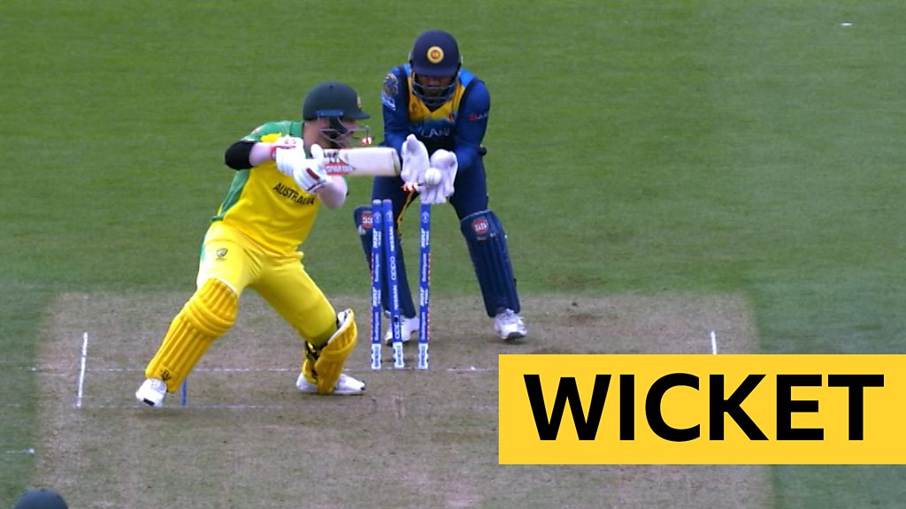 Cricket World Cup: David Warner bowled by Dhananjaya de Silva