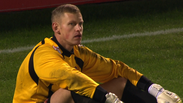 FC United goalkeeper David Carnell