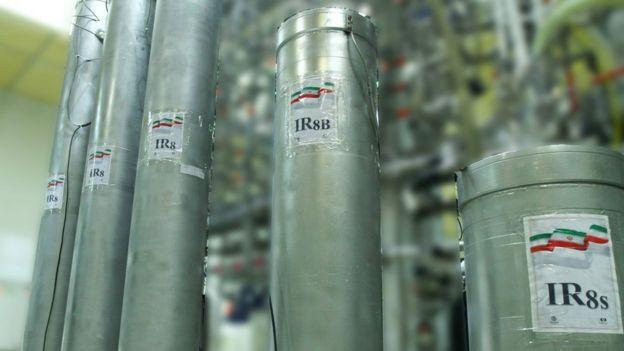 أجهزة الطرد المركزي المتطورة التي ركبتها إيران في ناتانز نوفمبر الماضي