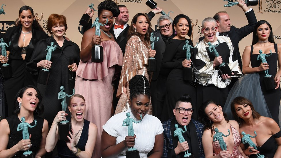 El elenco de Orange is the New Black premaido en los Screen Actors Guild Awards
