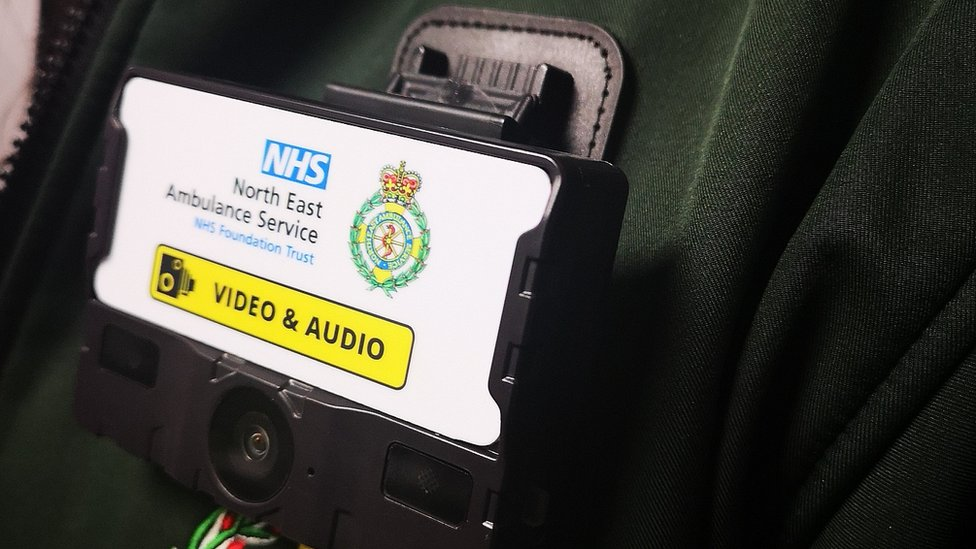 North East Ambulance Service crews given body cameras