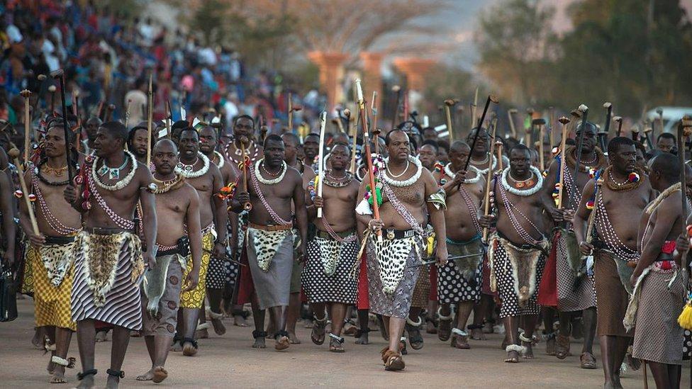 Suazilandia.