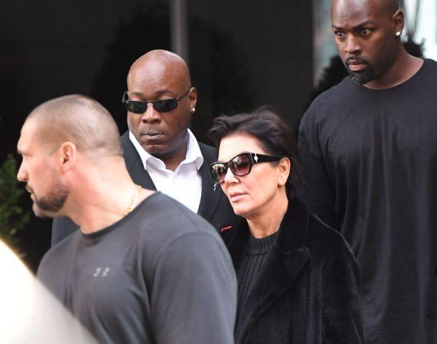 Mãe de Kim Kardashian, Kris Jenner