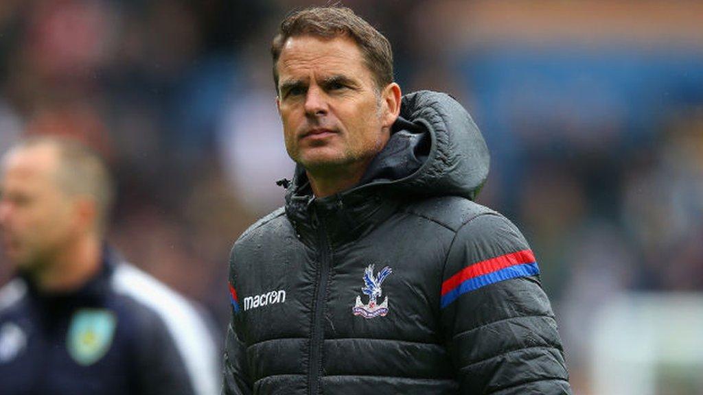 Frank de Boer: Swansea target former Ajax boss as new manager
